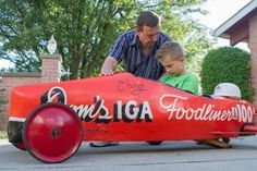 vintage soap box derby car - Google Search