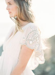 Ethereal Sunset Cliffs Bridal Inspiration