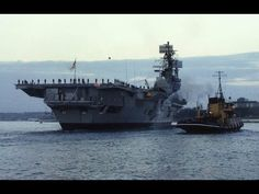 A slide show of HMS Ark Royal IV with paying off pennant passing Devil's Point and entering Devonport Naval Base for the final time on December Hms Ark Royal, Navy Carriers, Navy Ships, Submarines, Aircraft Carrier, Royal Navy, Battleship, Sailing Ships, Wwii