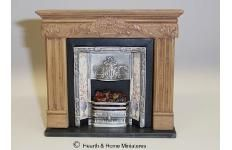 Hearth and Home Miniatures - Miniature Dolls House Victorian Fireplaces