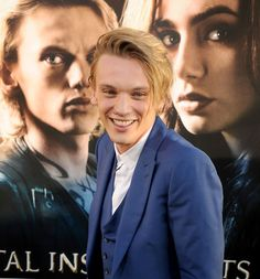 jamie campbell bower at the the mortal instruments: city of bones premiere on august 12!