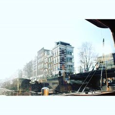 View from the Boat  #boat #grachtengordel #Prinsengracht #canals #Amsterdam