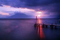 Lake Atitlán, Guatemala. The most beautiful lake in the world.