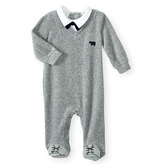 cc9cc9d7b Your little dude will exude a dapper appearance wherever he goes in this  comfortable footed one