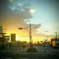 Marigold sky. #Sakai #Osaka #Japan