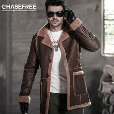 Back To Search Resultsmen's Clothing Charitable 2018 New Winter Blazer Fur Collar Long Section Men Fur Coat Mens Business Casual Leather Jacket Fleece Warm Thick Overcoat Xxxl Faux Leather Coats