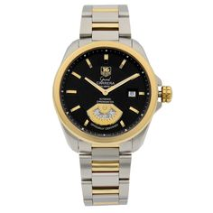 Metal Bands, Gold Bands, Watch Deals, Luxury Jewelry Brands, Tag Heuer, Stainless Steel Case, Carrera, Gold Watch, Luxury Branding