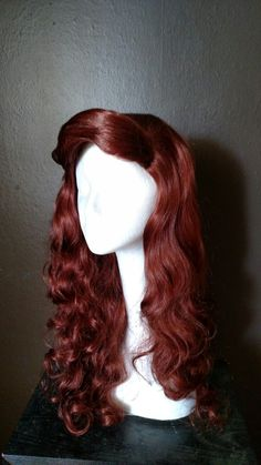 Ariel inspired wig from The Charming Violet