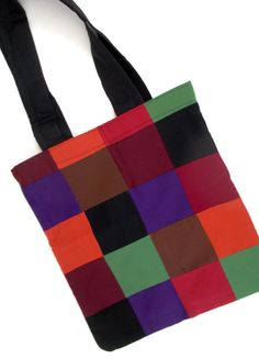 Colorful Tote Bag di 5foot1 su Etsy