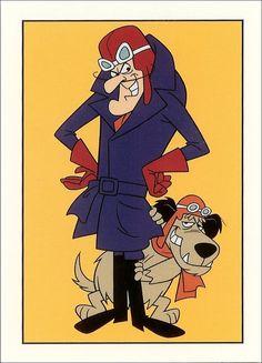 Hanna Barbera World: ENG - Dastardly and Muttley in their Flying Machines Classic Cartoon Characters, Favorite Cartoon Character, Cartoon Tv, Vintage Cartoon, Cartoon Shows, Vintage Comics, Cartoon Memes, Looney Tunes Cartoons, Retro Cartoons
