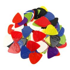 Features: Alice ABS smooth picks, 100pcs new picks,different colors Thickness include: Single thickness: 0.58MM, 0.71MM, 0.81MM,0.96MM, 1.2MM, 1.5MM Package Include: 100 pieces ABS Alice picks(The thickness depend on your choice)