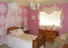 Princess Bedroom in Flower Mound - Dorothy Greenlee Designs