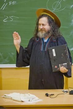 Richard  Stallman/ moscow university