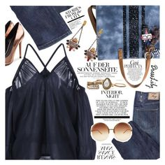 """""""Over the top"""" by vanjazivadinovic ❤ liked on Polyvore featuring Whiteley, Alexander Wang, Linda Farrow, dresslily and polyvoreeditorial"""