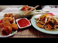Kínai sült tészta szezámmagos csirkével - YouTube Ketchup, Wok, Make It Yourself, Chicken, Youtube, Japan, Youtubers, Japanese, Youtube Movies