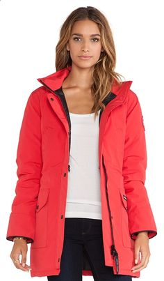 Canada Goose jacket...love the color.