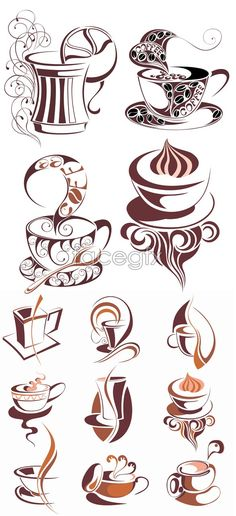 Coffee mugs / Coffee Shop Stuff - Coffee Icon - Ideas of Coffee Icon - Coffee mu I Love Coffee, My Coffee, Coffee Drinks, Coffee Cups, Coffee Menu, Coffee Barista, Coffee Scrub, Coffee Maker, Coffee Creamer