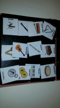 Pictogramas instrumentos