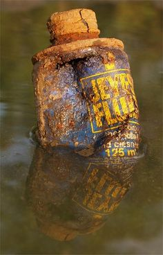 old rusty bottles | Rusted Jeyes Fluid bottle | Rusty Bits, Abandoned, Old or Decayed | P ...