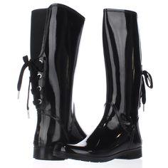 b2d875861f3 MICHAEL Michael Kors Larson Back Lace Rainboots
