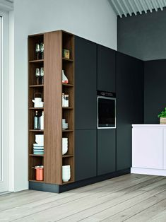 ASTRA XXL2 Open Plan Kitchen Living Room, Kitchen Room Design, Home Room Design, Modern Kitchen Design, Home Decor Kitchen, Interior Design Kitchen, Modern Interior Design, House Design, Custom Kitchens