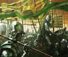 House Tyrell Bannermen by Tomasz Jedruszek