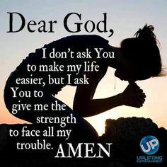 Dear God: please help me!