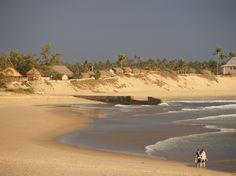 Mozambique Beach at dawn - Tofo Bay