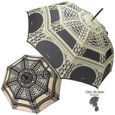 Guy de Jean Umbrellas are beautifully made in Donzy,near Paris, by Guy de Jean, Chantal Thomas and Jean Paul Gaultier. These umbrellas have a 12 month warranty and are both certified for Rain and UV Protection. Order here: http://frenchsoaps.com.au/GUY-DE-JEAN-Eiffel.html