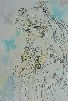 Sailor Moon Sailor Stars, Sailor Moon Manga, Sailor Moon Fan Art, Sailor Uranus, Neo Queen Serenity, Princess Serenity, Princesa Serena, Kitten Tattoo, Sailor Moon Background