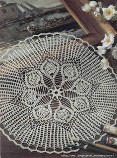 钩针桌布(62) - 柳芯飘雪 - 柳芯飘雪的博客