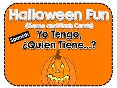 """Halloween """"Yo Tengo, ¿Quién Tiene...?"""" Game"""
