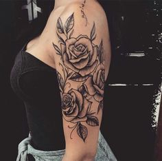 21 Rose Shoulder Tattoo Ideas For Women StayGlam - 21 Rose Shoulder Tattoo -. - 21 Rose Shoulder Tattoo Ideas For Women StayGlam – 21 Rose Shoulder Tattoo Ideas For Women StayGl - Dope Tattoos, Hand Tattoos, Body Art Tattoos, Awesome Tattoos, Finger Tattoos, Cross Tattoos, Small Tattoos, Tribal Tattoos, Paisley Tattoos