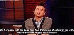 Mark on Angels & Airwaves.