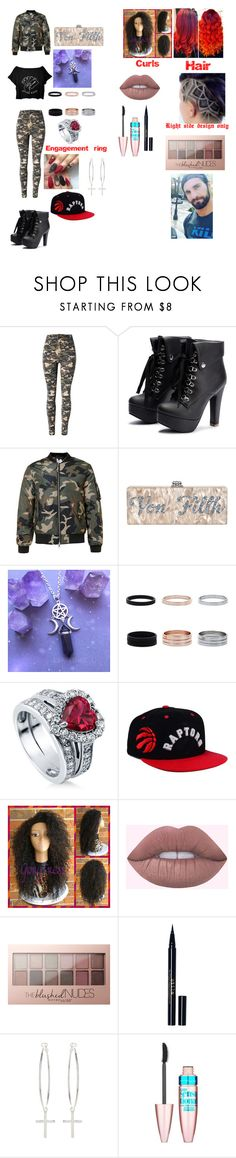 """I'm like your little ball of sunshine but with the flaming red hair"" by beautyria03 on Polyvore featuring WithChic, BERRICLE, adidas, Maybelline, Stila and Kiki Minchin"