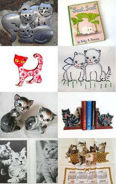 Pretty Kitties... All from EPSteam by AtticBasement--Pinned with TreasuryPin.com