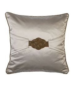 Gold Knot Cushion