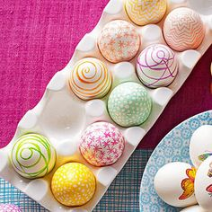 Make a Mark with a permanent marker for decorating your Easter eggs - Ladies Home Journal