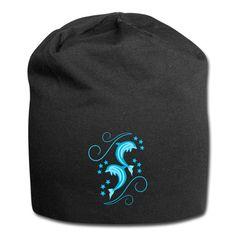 Stylowoodziani | Delfiny - Czapka krasnal z dżerseju Beanie, Hats, Shop, Fashion, Moda, Hat, Fashion Styles, Beanies, Fashion Illustrations