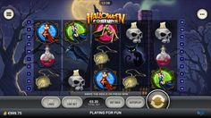 Complete review of the Halloween Fortune mobile slot.