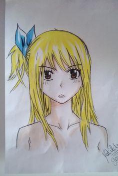 Lucy heartfilia fairy tail my draw