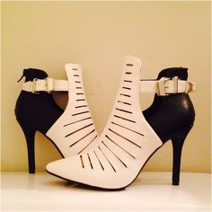 Black & White Babe Brand New! Posted on 1/27/15. Very cute and stylish. Can be worn all year around!!!! Anne Michelle Shoes