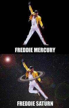Saturno?? Oh no...es el Freddiemercury!!!solo lo confundí.  Ji ji ji.