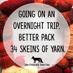 Funny Crochet Memes - The Friendly Red Fox