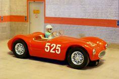 Carrera Evolution 25422. Maserati A6 GCS. Mille Miglia 1954. Sergio Ferraguti. #slotcar