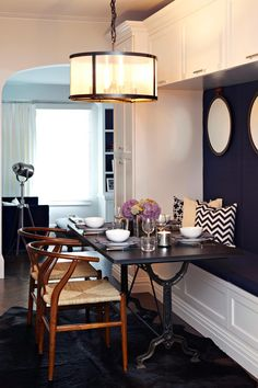 """This room is in the running for """"Best Small Space"""" on HGTV.com.  Vote if you love it or view more design challengers here--> http://hg.tv/215ik"""