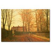 """Found it at Wayfair - """"Going to Church, 1880"""" by John Atkinson Grimshaw Painting Print on Wrapped Canvas"""