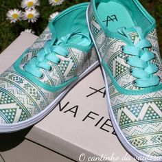 Sapatilha verde de água Running Shoes, Sneakers, Fashion, Loafers & Slip Ons, Shoes, Green, Runing Shoes, Tennis, Moda