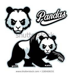 Find Panda Mascot Istyle Separated Head stock images in HD and millions of other royalty-free stock photos, illustrations and vectors in the Shutterstock collection. Soccer Logo, Sports Logo, Cartoon Silhouette, Makeup Artist Logo, Sports Decals, World Aids Day, Panda Art, Cartoon Background, Vector Photo