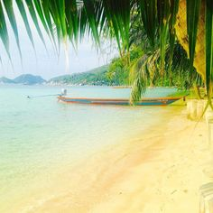 My #instagram is about to get #boring. #beach #sand #sea #sun #paradise #repeat. #travel #travels #instatravel #travelgram #ilovetraveling #plage #palmier #kohtao #island #ile #thailande ### by streetsausage